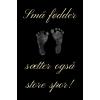 Skilt 117 - Små fødder